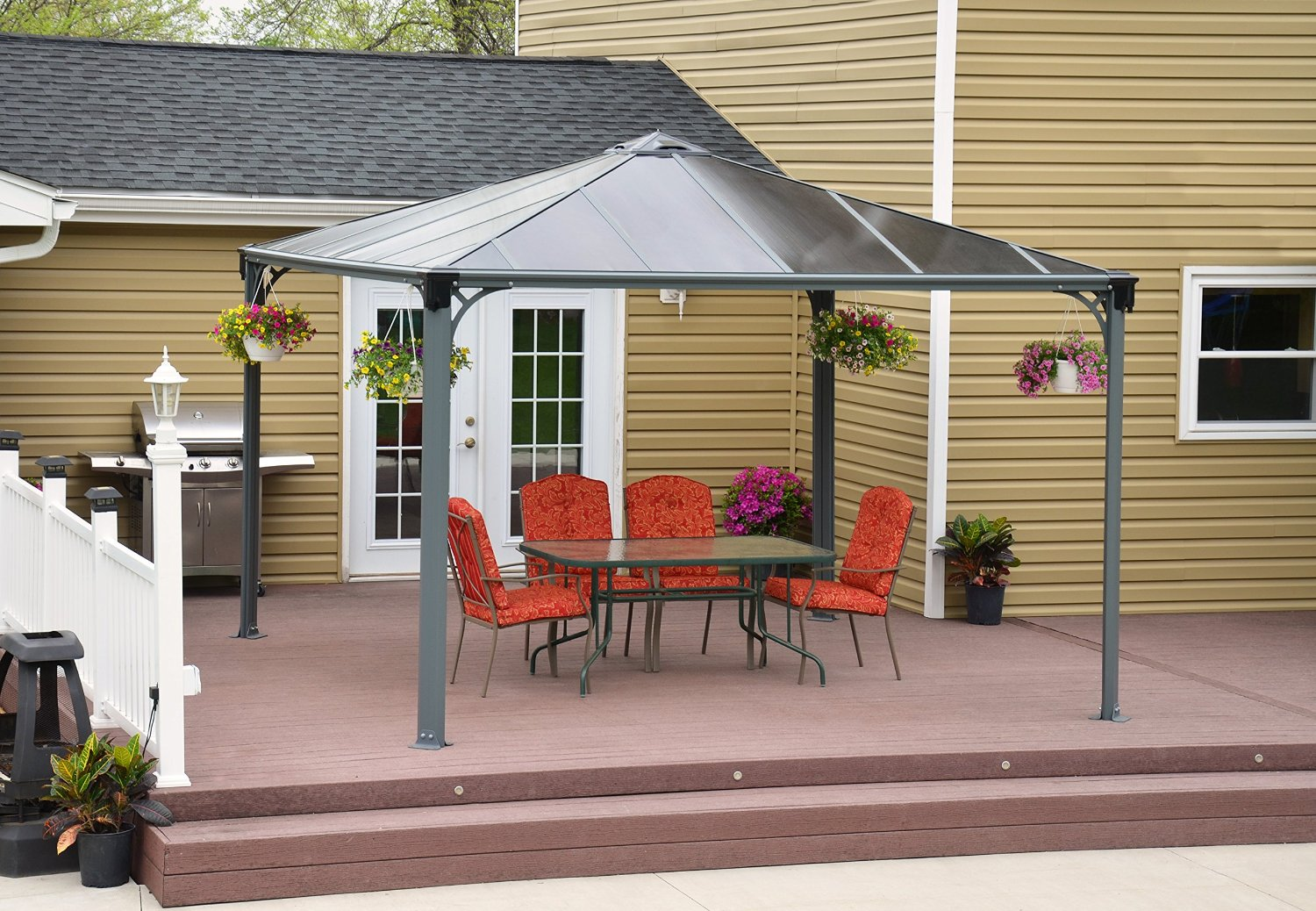 Hardtop Gazebos: Best 2018 Choices, Sorted by Size on