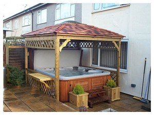 hot tub hardtop gazebo