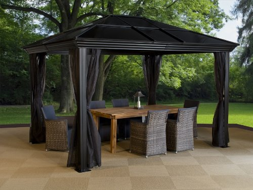Review Ellington Hardtop Gazebo From Sojag 187 Best Hardtop