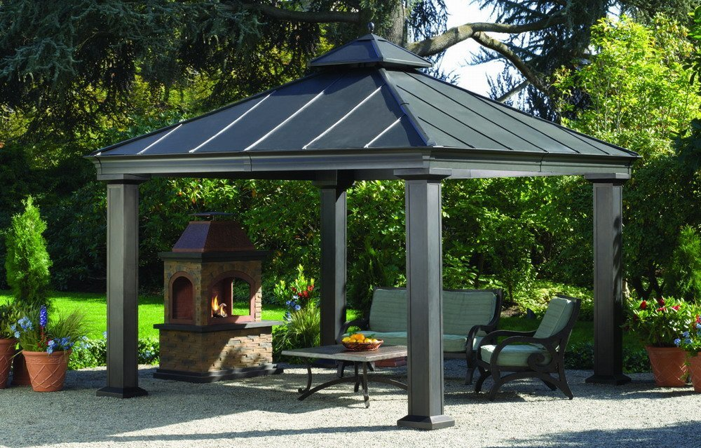 Superieur Hardtop Gazebos: Best 2018 Choices, Sorted By Size