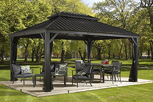 how to build a hardtop gazebo