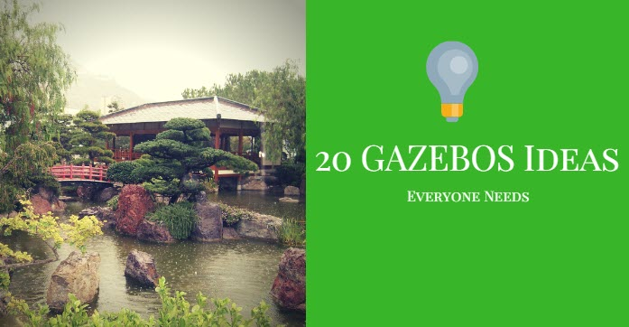 gazebo ideas top 20